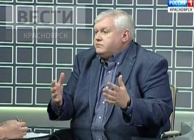 Первый зампредседателя ЗС Красноярского края Алексей Клешко об истории краевого ТВ