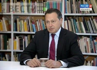 Мэр Красноярска Эдхам Акбулатов о том, почему идет на выборы на должность главы города
