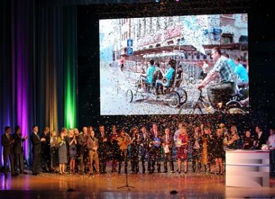 Фотографии с торжественного мероприятия в честь 60-летия краевого телевидения и 90-летия радиовещания