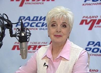 Радио моей жизни. Диктор высшей категории, автор программ на «Радио России.Красноярск» Людмила Базарова
