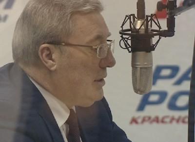 Радио моей жизни. Губернатор Красноярского края Виктор Толоконский