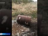 Под Канском скотобойня выбрасывает отходы на поля