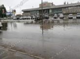 Переулок Светлогорский в Красноярске утопает в луже