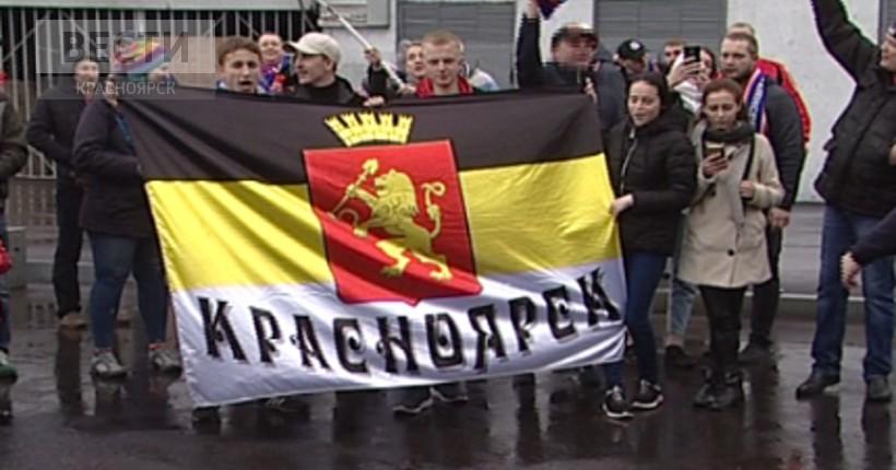 Футболисты «Енисея» вернулись в Красноярск