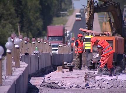 Более 40 километров трассы М-54 отремонтируют в Красноярском крае и Хакасии