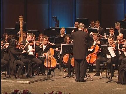 События недели: в Красноярске прошел благотворительный концерт оркестра Мариинского театра под управлением Валерия Гергиева