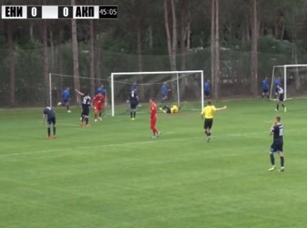 Футболисты «Енисея» на сборах обыграли клуб из Македонии