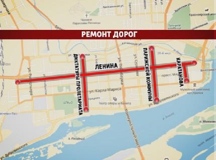 Глобальные дорожные работы в Красноярске продолжатся и в этом году