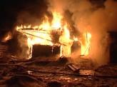 В деревне Крутая сгорел частный дом