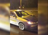 Сегодня ночью на проспекте Металлургов в Красноярске таксист сбил пешехода