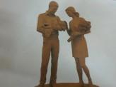 В Красноярске установят памятник молодой семье