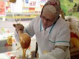 Медовая ярмарка проходит в Красноярске