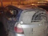 В Красноярске сегодня ночью группа молодых людей устроила автопогром