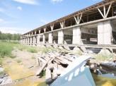 На территории птицефабрики «Сибирская губерния» в цеху обрушились перекрытия