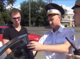 В Октябрьском районе прошёл рейд по выявлению автомобилей с излишней тонировкой