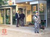 Грабителей банкомата в Красноярске ищут кинологи с собаками
