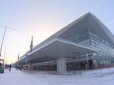 Новый терминал красноярского аэропорта показали главе региона и журналистам
