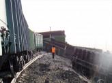 Под Красноярском с рельсов сошли вагоны с углём