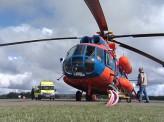 В краевой больнице появились вертолёты, оснащённые реанимационным оборудованием