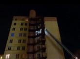 Накануне ночью в десятиэтажке на улице Вильского произошел пожар