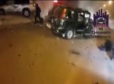 На улице Брянская столкнулись два внедорожника