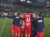 Футбольный «Енисей» проиграл в последнем матче, но все равно впервые вышел в Премьер-лигу