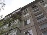 В Красноярске на улице Калинина орудует пироман