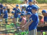 В Емельяновском районе прошли соревнования по детской рыбалке «Карасёнок»